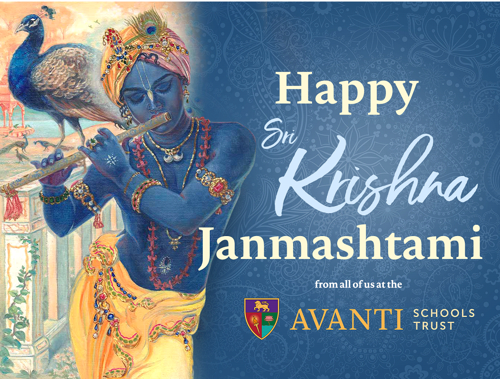 Happy Janmashtami! – Message for parents