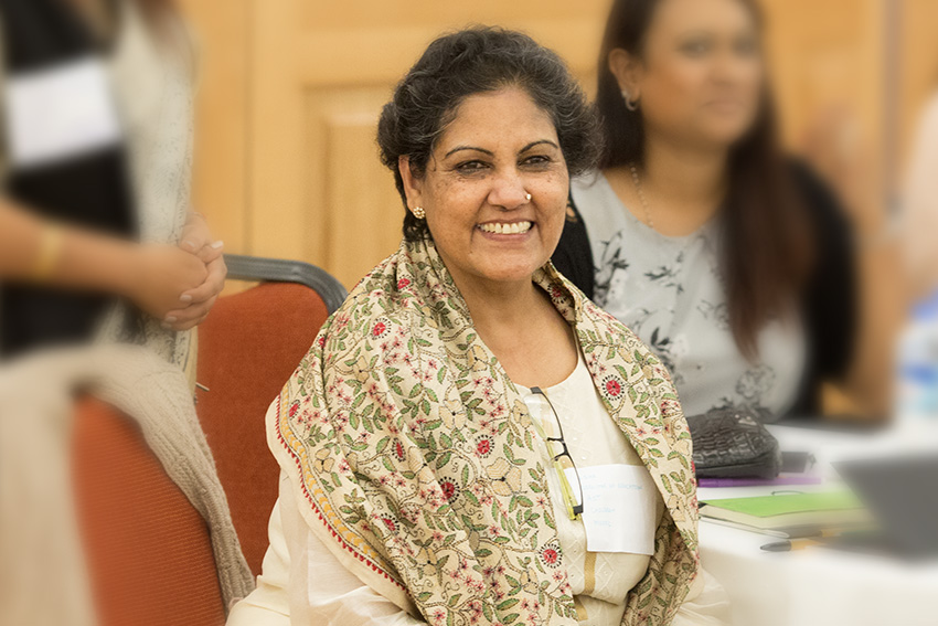 Usha Sahni OBE