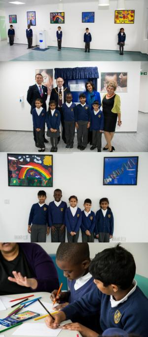 Avanti Court student art on display at local Antenatal Unit