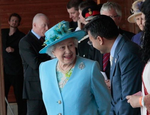 The Queen visits Krishna Avanti Primary School
