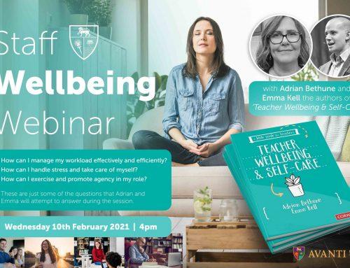 Staff Wellbeing Webinar